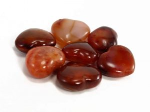 Crystal Dreams Carnelian Stone Heart