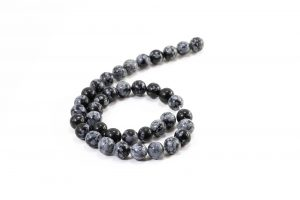 Snowflake Obsidian (10 mm or 8 mm)
