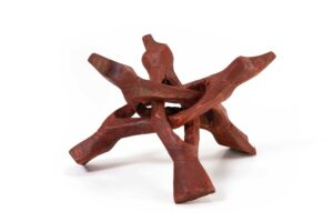 Wood Stand Tripod for Crystals