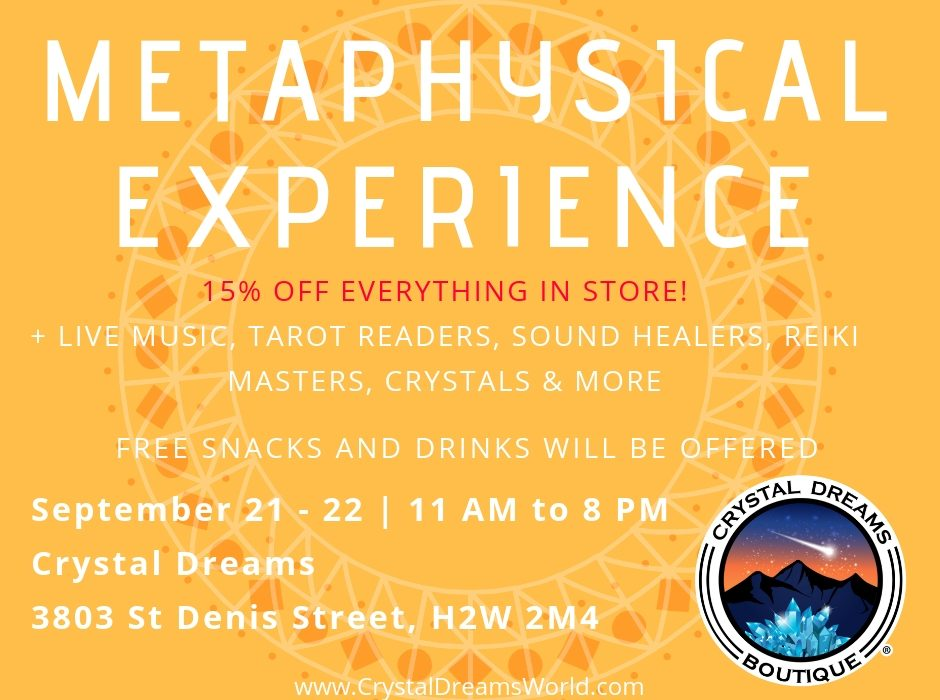 Metaphysical Experience Event - Crystal Dreams World